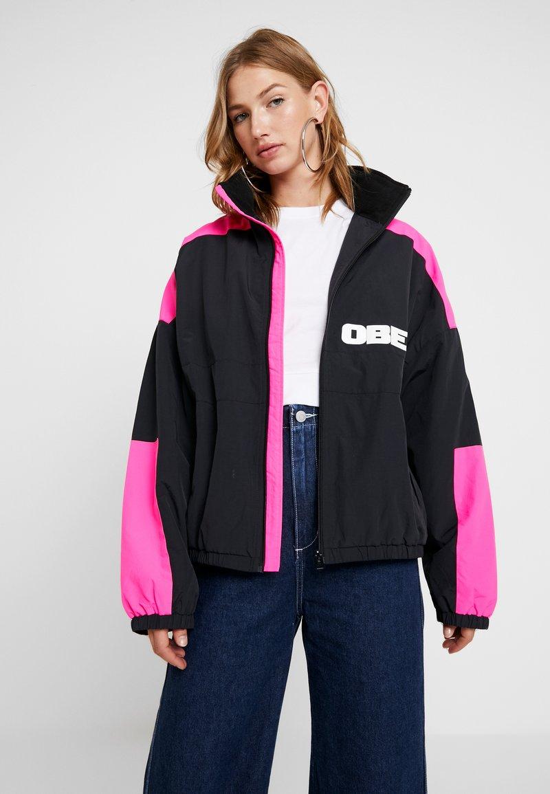 Obey Clothing - BRUGES JACKET - Training jacket - black