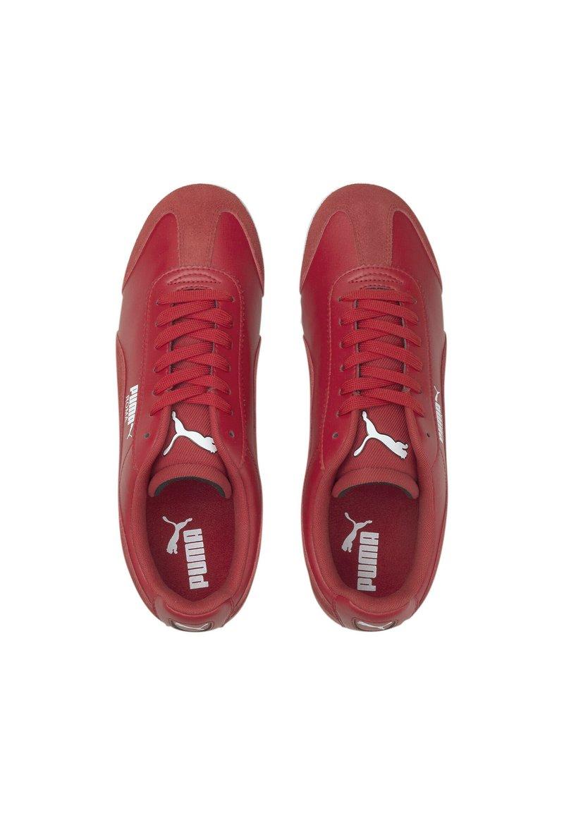 Puma Scuderia Ferrari Roma Sneaker Low Rosso Corsa White Rot Zalando De