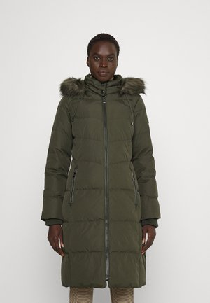HAND COAT HOOD - Down coat - litchfield loden