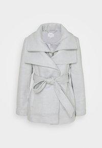 Forever New Petite - APRIL CROPPED COAT - Klasický kabát - grey marl - 0