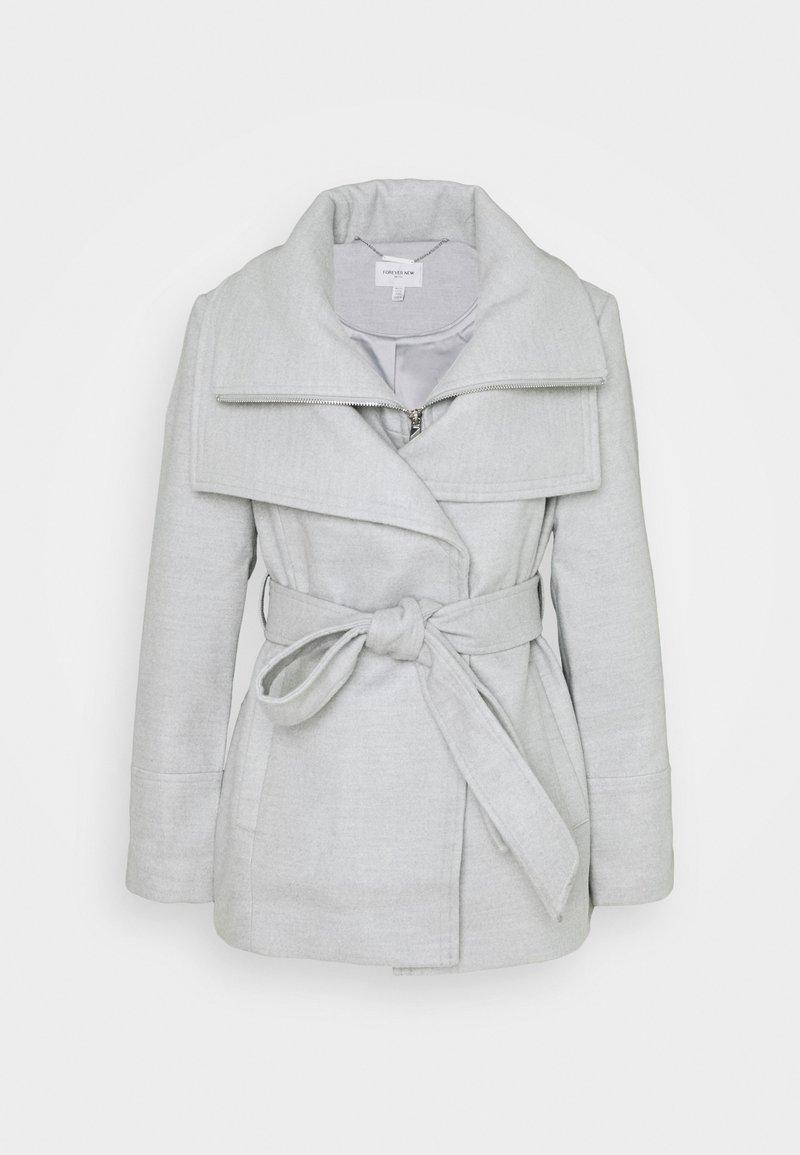 Forever New Petite - APRIL CROPPED COAT - Klasický kabát - grey marl