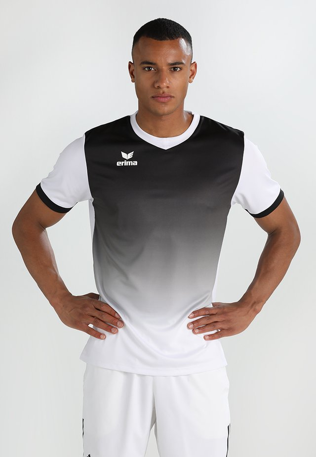 LEEDS SHORTSLEEVE - Sportswear - white/black