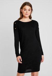 Pieces - PCNOLLIE DRESS - Jumper dress - black - 0