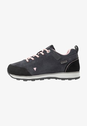 KIDS ELETTRA LOW SHOES WP - Hiking shoes - antracite/pastel pink