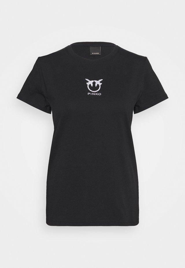 BUSSOLANO  - T-shirt basique - black