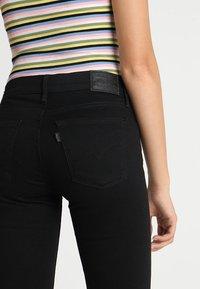 Levi's® - 710 SUPER SKINNY - Jeans Skinny - black galaxy - 5