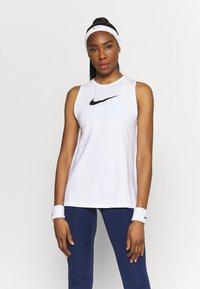 Nike Performance - TANK OPEN - Camiseta de deporte - white - 0