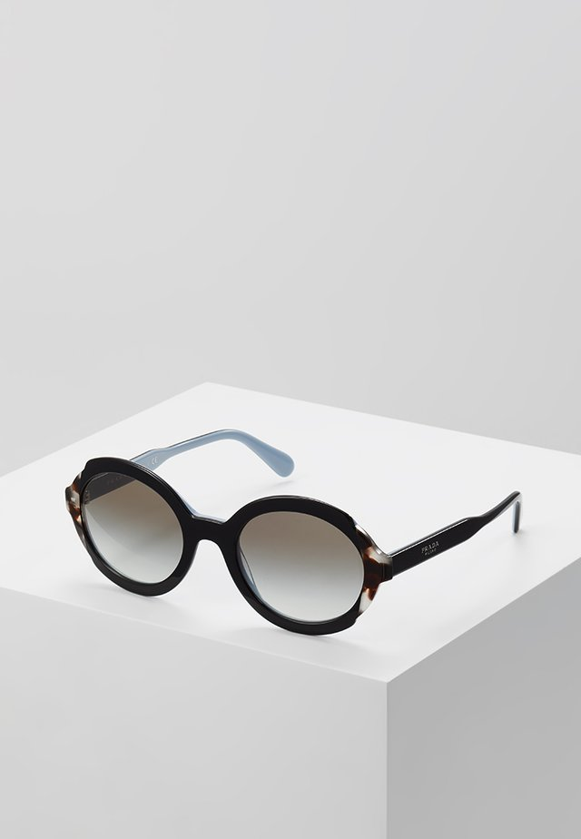 Sonnenbrille - top black/azure/spotted brown
