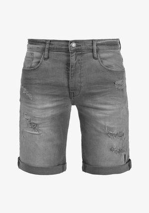 JEANSSHORTS DENIZ - Denim shorts - gray
