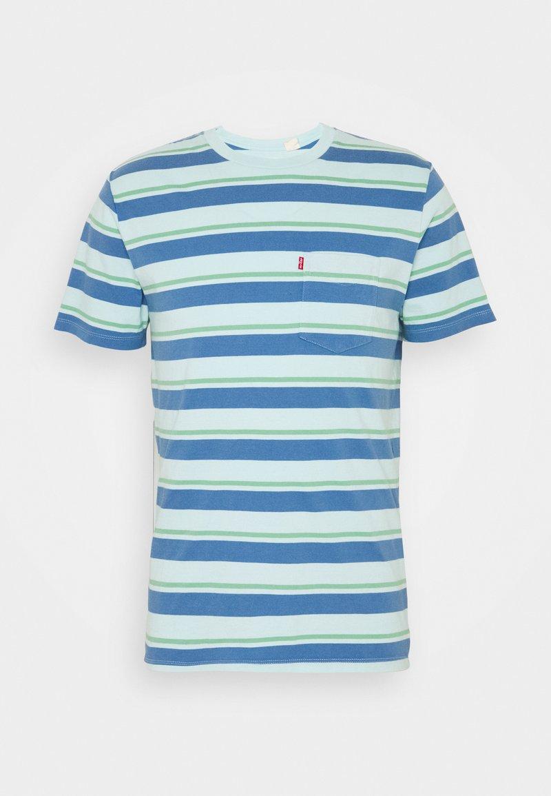 Levi's® - SUNSET POCKET - Print T-shirt - blue