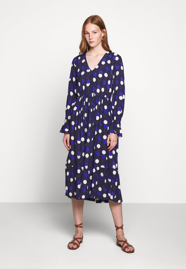 TOOK - Day dress - royal blue