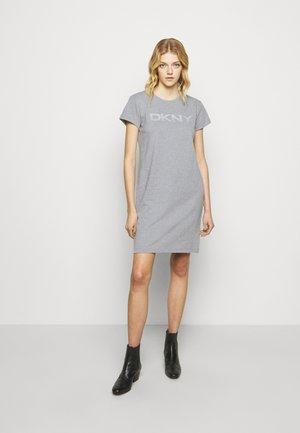 LOGO DRESS - Vapaa-ajan mekko - grey