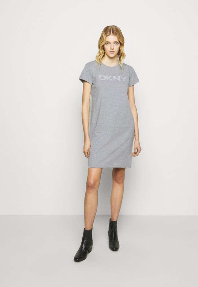 LOGO DRESS - Robe d'été - grey