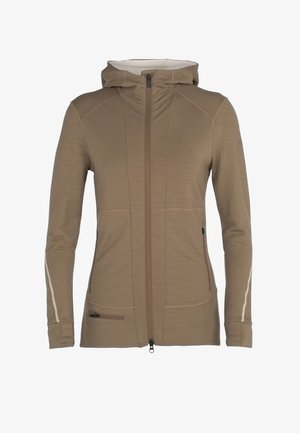 W QUANTUM - Zip-up hoodie - flint