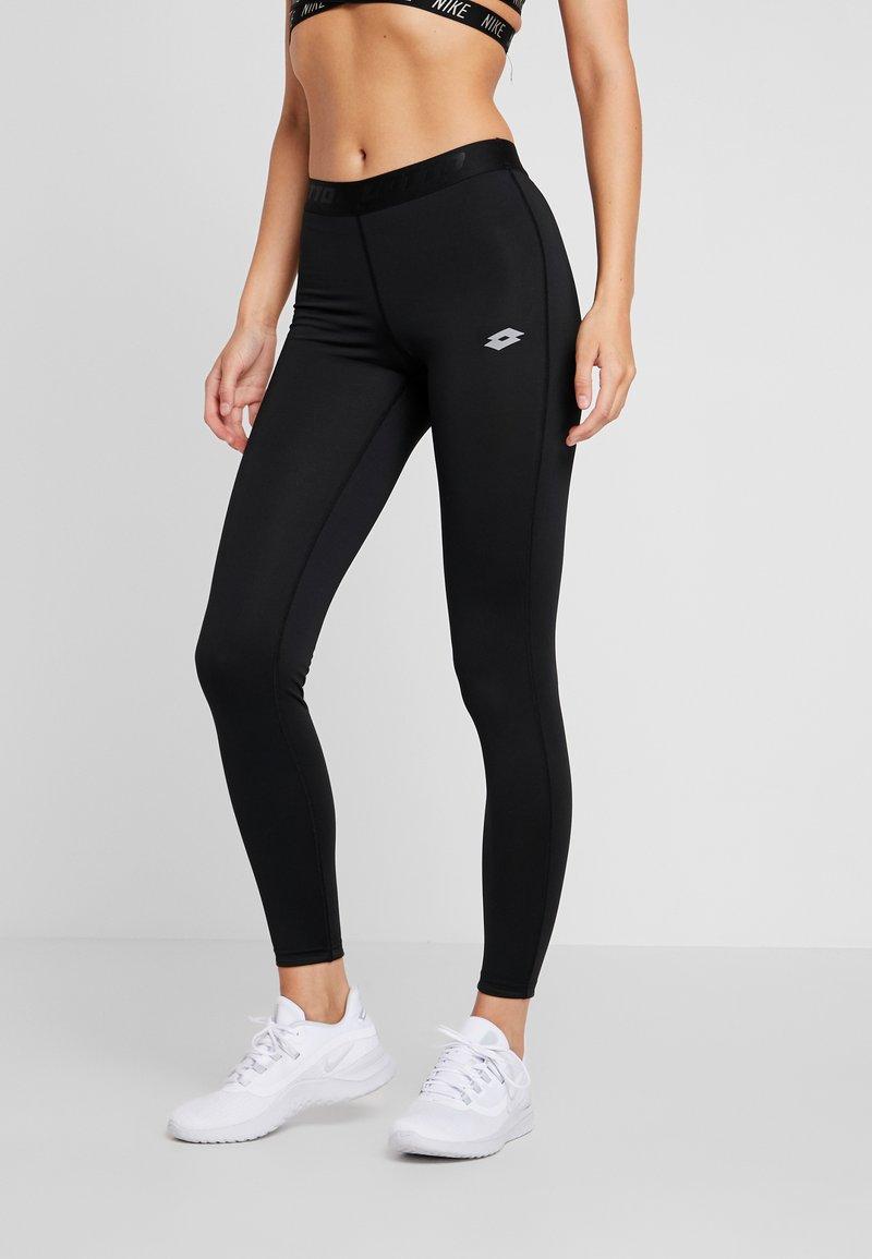 Lotto - SMART LEGGING  - Leggings - all black