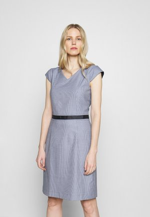DRESS - Shift dress - marine