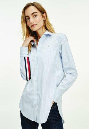 MONICA - Button-down blouse - lauren stp / breezy blue
