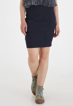 ZALIN - Pencil skirt - (noos) dark peacoat