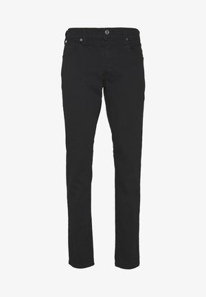 STRAIGHT TAPERED - Straight leg -farkut - black denim