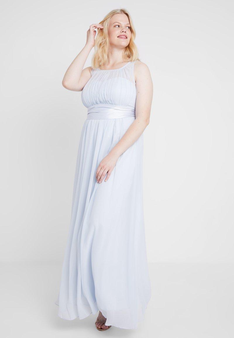 Dorothy Perkins Curve - NATALIE MAXI VOLUME LINE - Ballkjole - blue