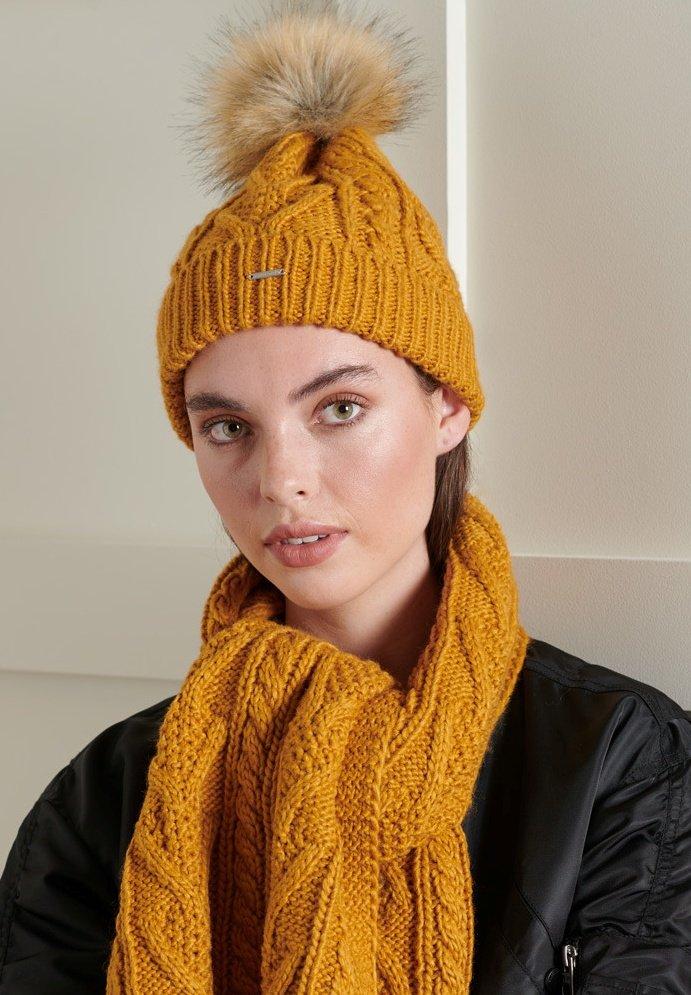 Superdry - LANNAH - Beanie - yellow
