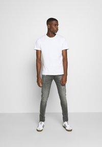 Replay - BRONNY AGED - Jeans Skinny Fit - medium grey - 1