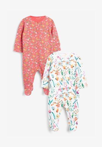 2 PACK - Sleep suit - pink