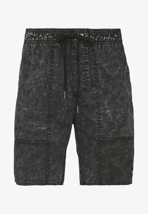 BAYWATCH BOARDSHORT - Kraťasy - black acid wash
