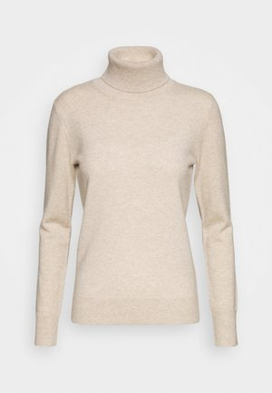TURTLENECK - Jumper - oatmeal