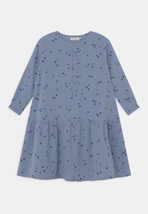 Day dress - milky sky/deep blue