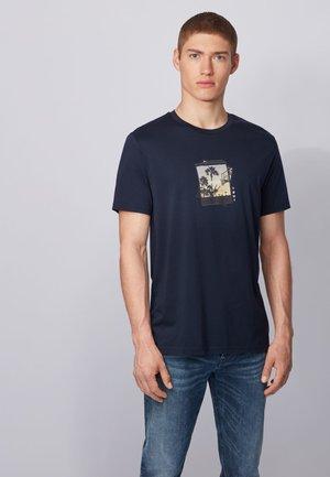 TMIX - T-shirt print - Royal Blue