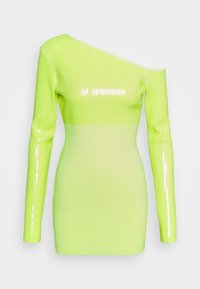 David Koma - Cocktail dress / Party dress - neon yellow - 4