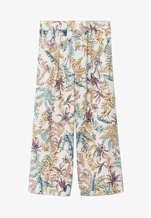 SABINE - Trousers - blanc cassé