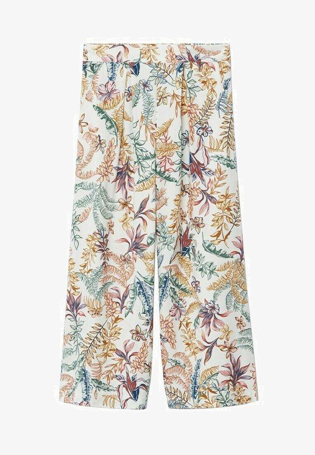 SABINE - Pantaloni - blanc cassé