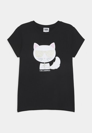 SHORT SLEEVES TEE - Print T-shirt - black