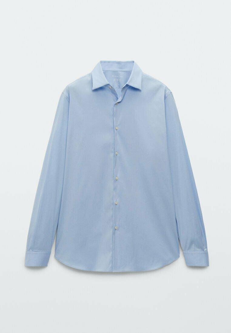 Uomo UNIFARBENES STRETCH - Camicia