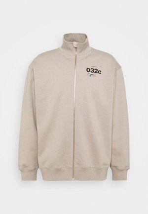 032C X ZALANDO ZIP-UP MOCK NECK UNISEX - Zip-up sweatshirt - greyish
