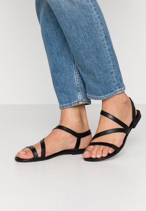 LEATHER SANDALS - Sandals - black