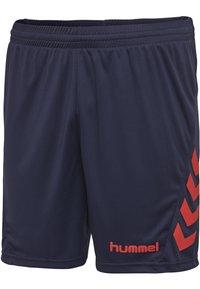 Hummel - DUO SET - Sports shorts - true red/marine - 7