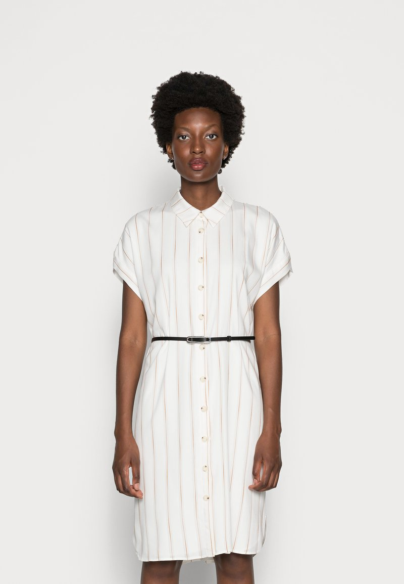 comma - Shirt dress - off white