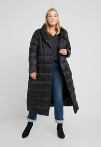Zalando Essentials Curvy - Down coat - black - 1