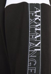 Armani Exchange - Hoodie - black/white - 3