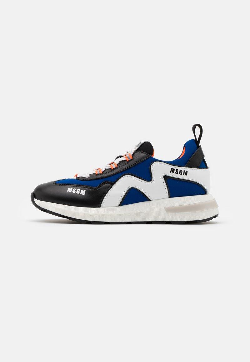 MSGM - UNISEX - Trainers - blue/black