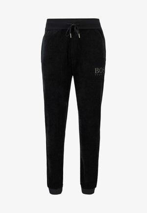 VELOUR - Pyjama bottoms - black