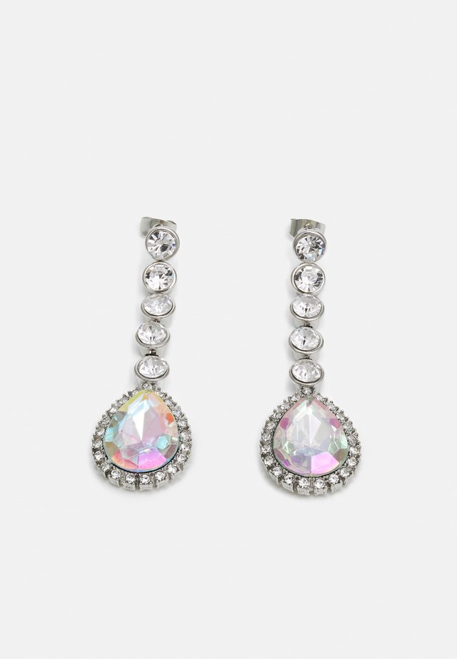 PCSAHRA EARRINGS - Kolczyki - silver-coloured