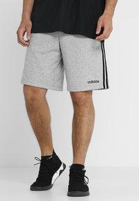 adidas Performance - Sports shorts - medium grey heather - 0