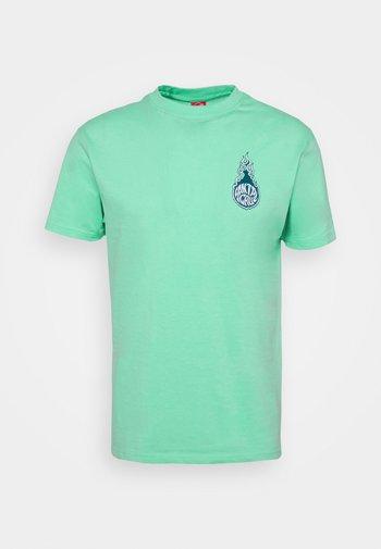 SANTA CRUZ REMILLARD MAKO MATCHBOX UNISEX  - Print T-shirt - jade green