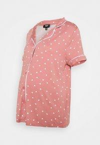 Missguided Maternity - PIPED SHIRT NIGHT - Pyžamo - rose - 1