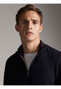 Massimo Dutti - Sweatshirts - dark blue - 4