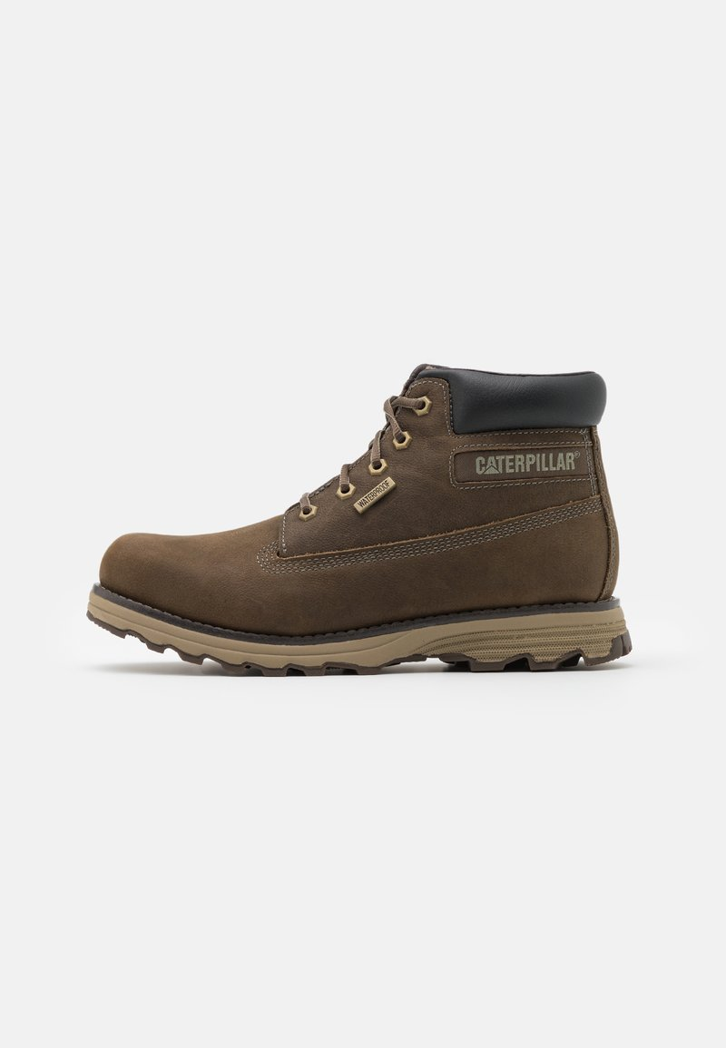 Cat Footwear - FOUNDER WP  - Lace-up ankle boots - gravity grey